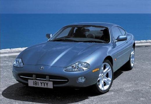 JAGUAR XK8 XKR coupe niebieski jasny przedni lewy