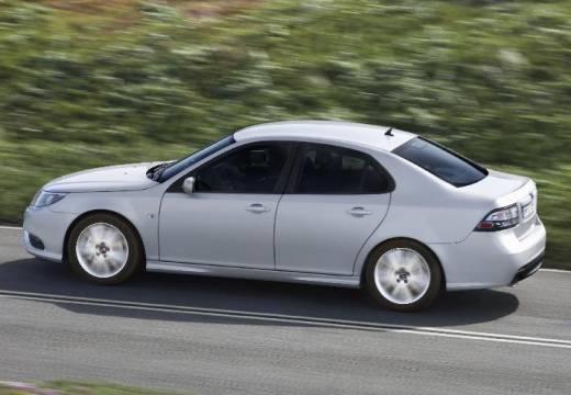 SAAB 9-3 Sport II sedan silver grey boczny lewy