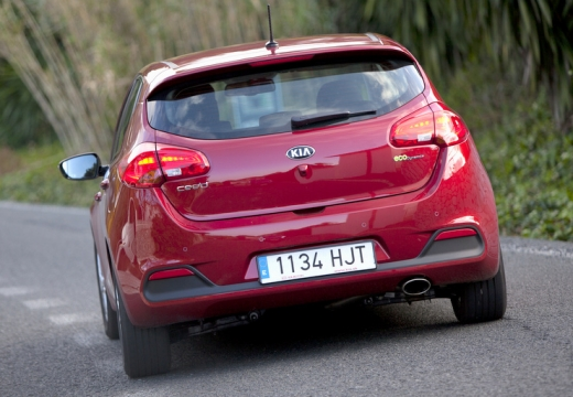 KIA Ceed III hatchback czerwony jasny tylny