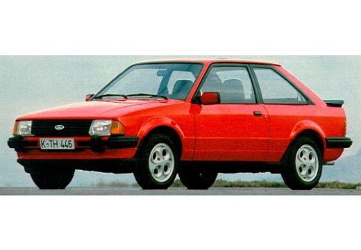 FORD Escort I hatchback czerwony jasny przedni lewy