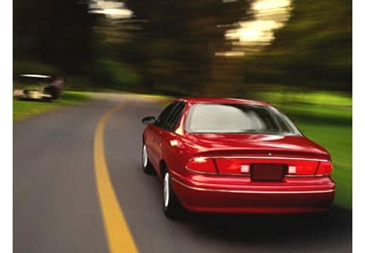 BUICK Century III sedan czerwony jasny tylny lewy