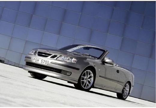 SAAB 9-3 Cabriolet II kabriolet silver grey przedni lewy