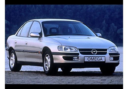 OPEL Omega sedan silver grey przedni prawy