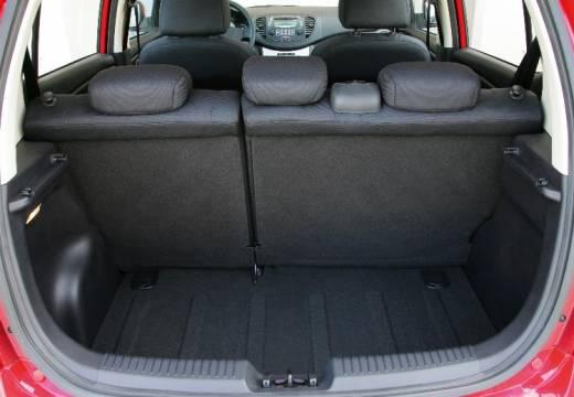 HYUNDAI i10 I hatchback przestrzeń załadunkowa