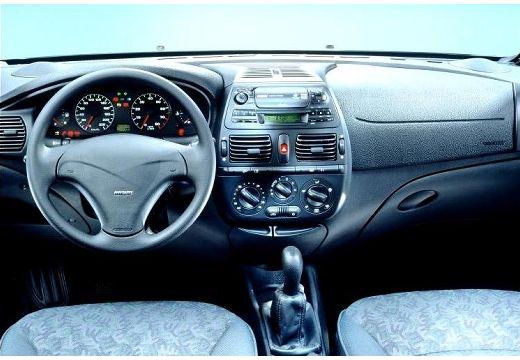 FIAT Bravo hatchback tablica rozdzielcza