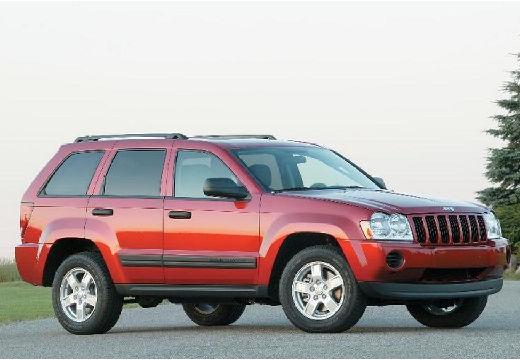 JEEP Grand Cherokee III kombi czerwony jasny przedni prawy