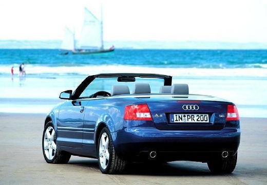 AUDI A4 Cabriolet 8H I kabriolet czarny tylny lewy