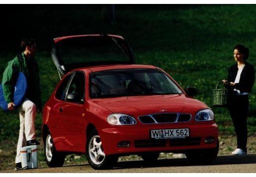 DAEWOO / FSO Lanos hatchback czerwony jasny przedni prawy