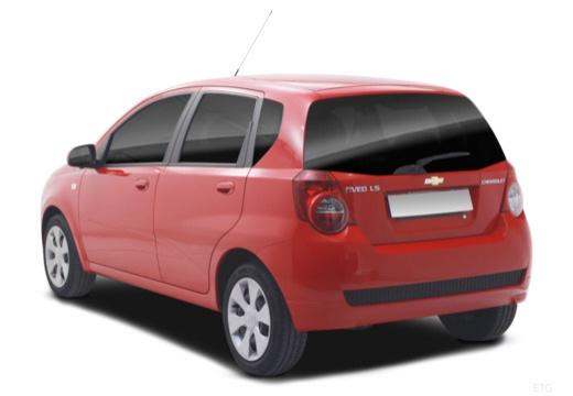 CHEVROLET Aveo II hatchback tylny lewy