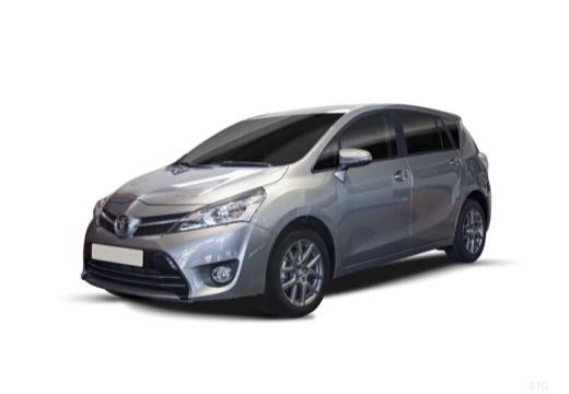 Toyota Verso II kombi mpv szary ciemny przedni lewy