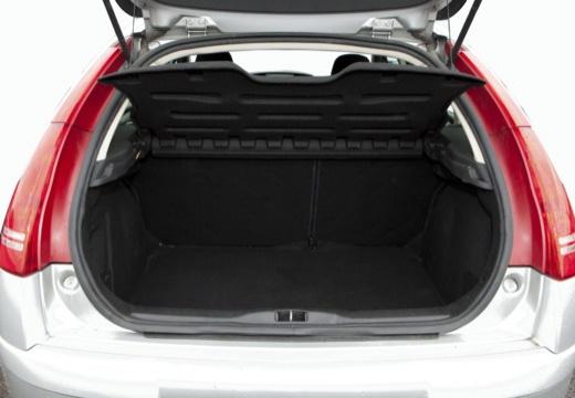 CITROEN C4 II hatchback silver grey przestrzeń załadunkowa