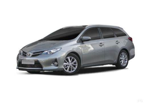 Toyota Auris kombi szary ciemny przedni lewy
