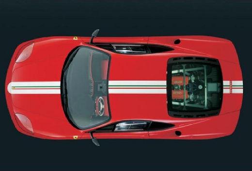 FERRARI 360 Spider kabriolet czerwony jasny górny przedni