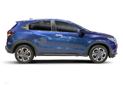 HONDA HR-V II kombi niebieski jasny boczny prawy