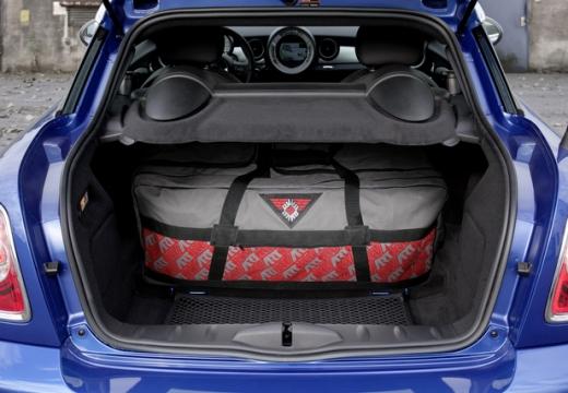 MINI [BMW] coupe przestrzeń załadunkowa