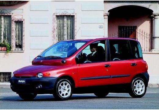 FIAT Multipla kombi czerwony jasny przedni lewy