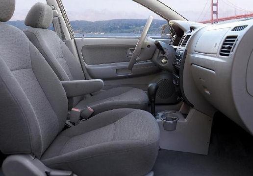 KIA Rio II hatchback wnętrze