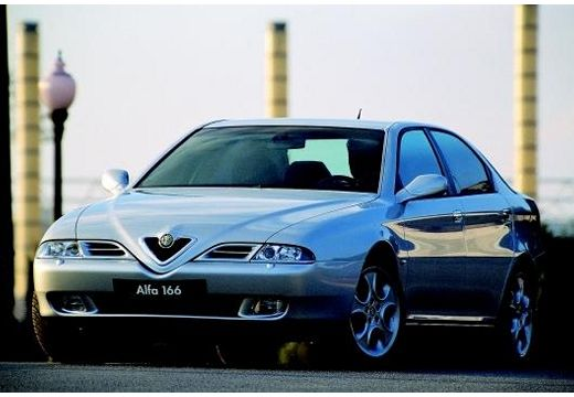 ALFA ROMEO 166 I sedan silver grey przedni lewy