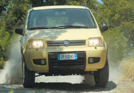 FIAT Panda II hatchback żółty przedni