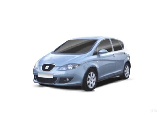 SEAT Altea I hatchback niebieski jasny przedni lewy