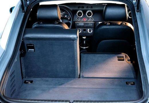 AUDI TT 8N coupe przestrzeń załadunkowa