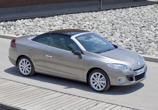 RENAULT Megane III CC kabriolet silver grey przedni prawy