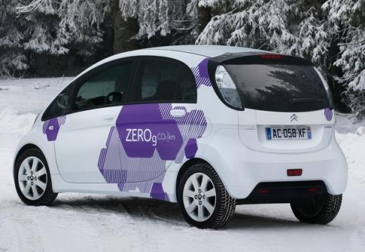 CITROEN C-ZERO hatchback biały tylny lewy