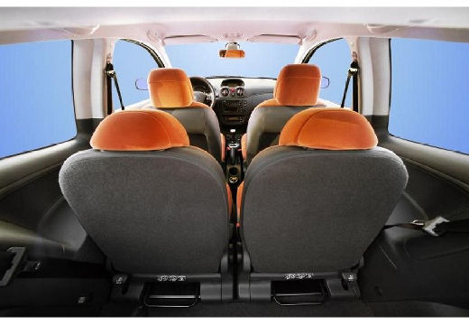 CITROEN C2 hatchback wnętrze
