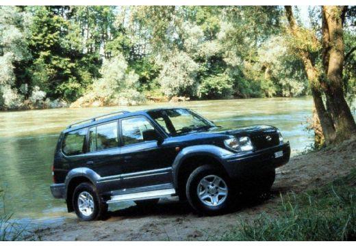 Toyota Land Cruiser III kombi przedni prawy