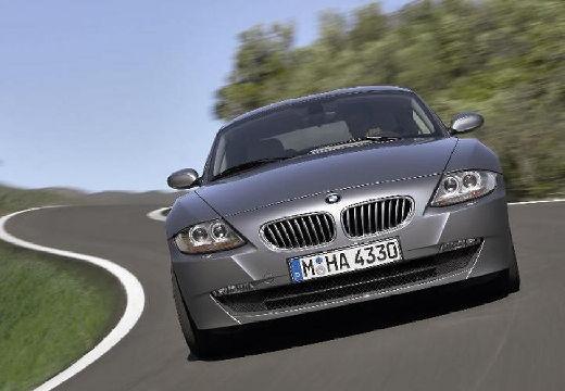 BMW Z4 coupe silver grey przedni