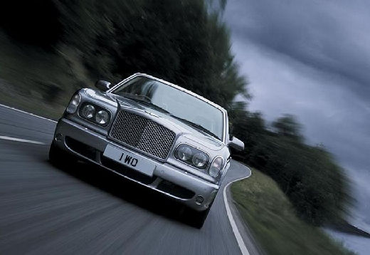 BENTLEY Arnage I sedan silver grey przedni