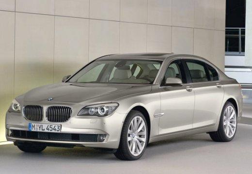 BMW Seria 7 sedan beige przedni lewy