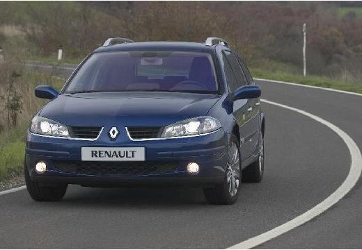 RENAULT Laguna II Grandtour II kombi niebieski jasny przedni lewy