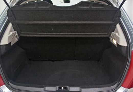 PEUGEOT 207 I hatchback przestrzeń załadunkowa