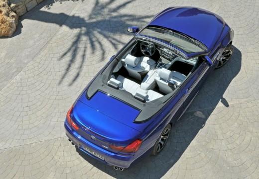 BMW Seria 6 Cabriolet F12 I kabriolet niebieski jasny tylny prawy