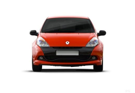 RENAULT Clio III II hatchback czerwony jasny przedni