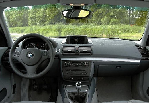 BMW Seria 1 E87 I hatchback tablica rozdzielcza