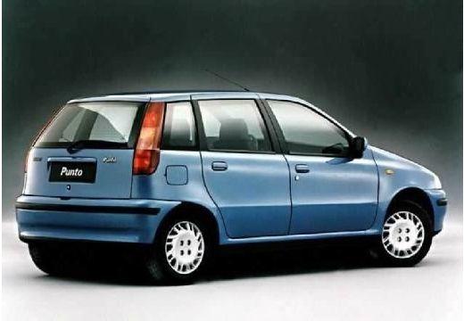 FIAT Punto I hatchback niebieski jasny tylny prawy
