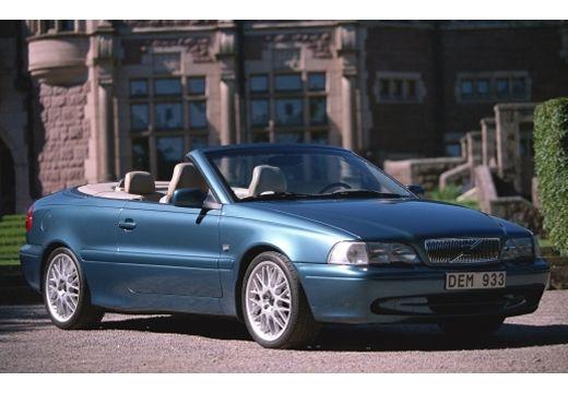 VOLVO C70 Cabrio I kabriolet niebieski jasny przedni prawy