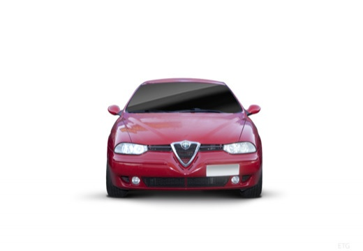 ALFA ROMEO 156 Sportwagon II kombi czerwony jasny przedni