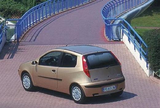 FIAT Punto II I hatchback szary ciemny tylny lewy
