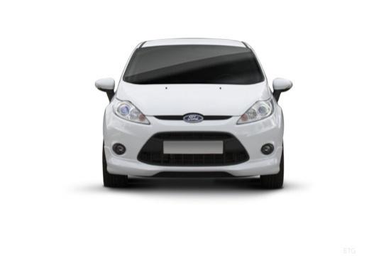 FORD Fiesta VII hatchback biały przedni
