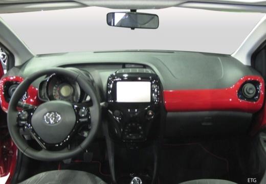 Toyota Aygo IV hatchback tablica rozdzielcza