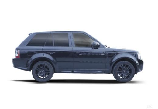 LAND ROVER Range Rover Sport III kombi czarny boczny prawy