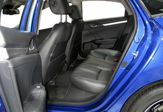 HONDA Civic IX sedan wnętrze