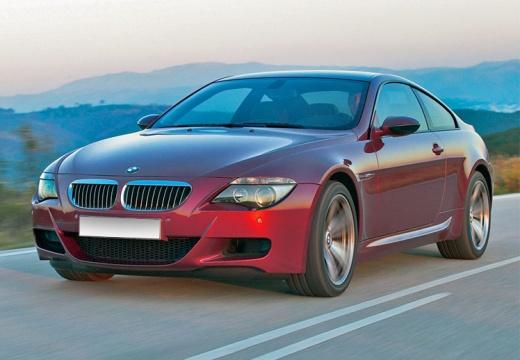 BMW Seria 6 E63 II coupe czerwony jasny