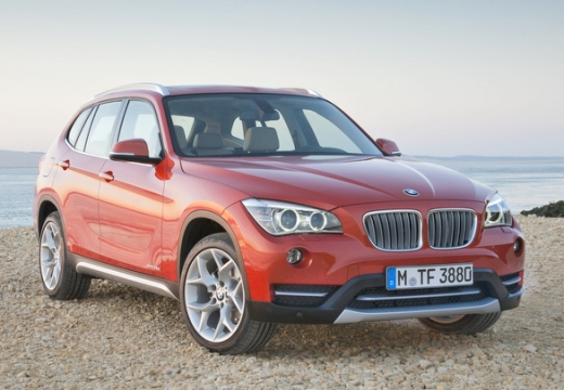 BMW X1 универсал оранжевый передний правый