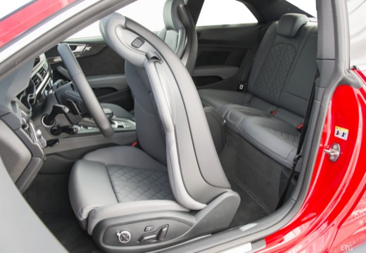 AUDI A5 coupe wnętrze