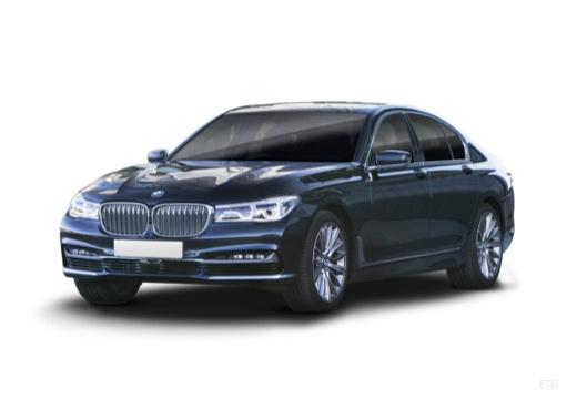 BMW Seria 7 sedan przedni lewy