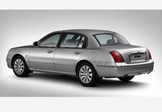 KIA Opirus II sedan silver grey tylny lewy
